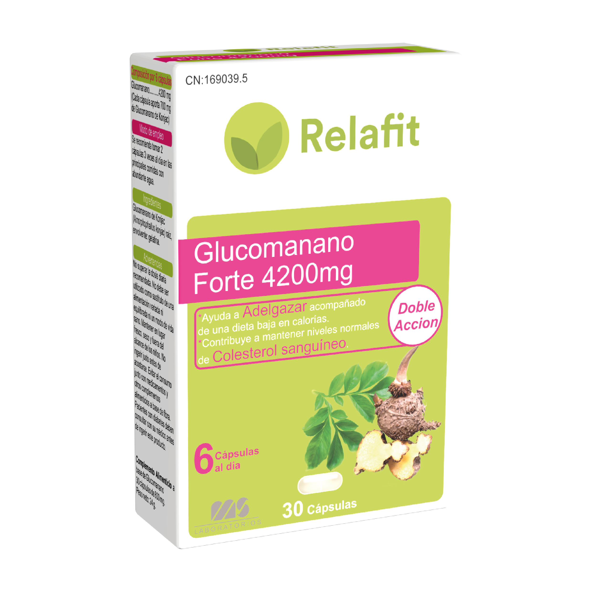 Glucomanano Forte 4.200mg